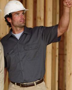 1574 Dickies Men's 5.2 oz. Short-Sleeve Work Shirt