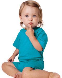 Rabbit Skins  4426  Infant 5.5 oz. T-Shirt Romper
