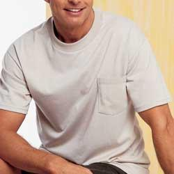 Hanes 6.1 oz 5190 Cotton Beefy-T with Pocket