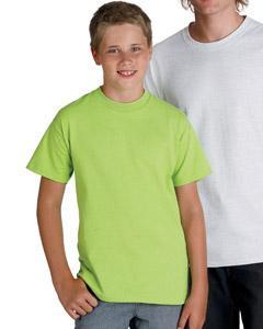 Hanes Tagless 54500  6.1 oz Cotton Youth T-shirt