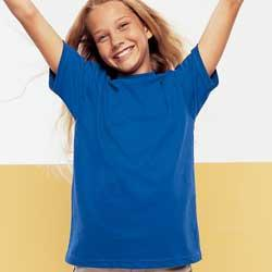 Hanes 5480  5.5 oz Cotton Youth Tee