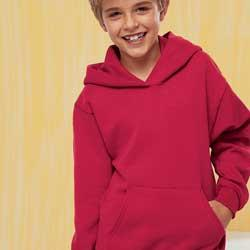 Hanes P473  7.8 oz 50/50 Youth Pullover Hood