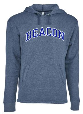 Unisex Soft Next Level Heather Blue Pullover Hoodie
