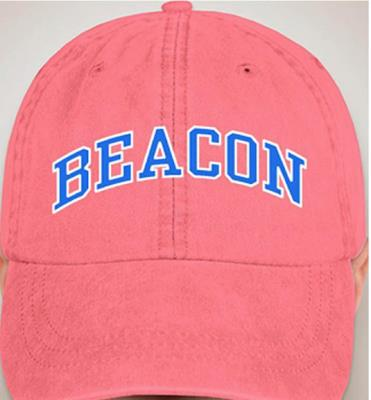 Beacon Hot Pink Embroidered Cap