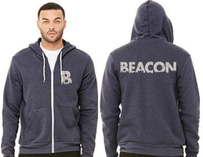 Beacon Unisex Zipper Hoodie
